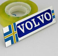 Car Performance Alu Badge Emblem Fenders Stickers Decals For Sweden Volvo NEW