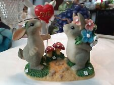 """Fitz and Floyd Charming Tails """"Love is in the Air"""" 84/100 Collectable."""