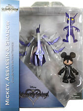 Kingdom Hearts ~ MICKEY, ASSASSIN & SHADOW ACTION FIGURE SET ~ Diamond Select