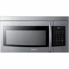 Samsung 1.6 Cu.Ft. 1000-Watt Over-the-Range Microwave w/ 10 Power Levels - Black