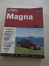 1991 - 1996 Magna TR - TS series 4 cylinder series Service and Repair Manual