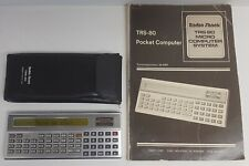 Radio Shack TRS-80 Pocket Computer. Tested & Working. Pouch, Manual. 1980 !