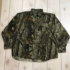 Remington Mens 2XL Camouflage Shirt Realtree Hardwoods Oak Cotton