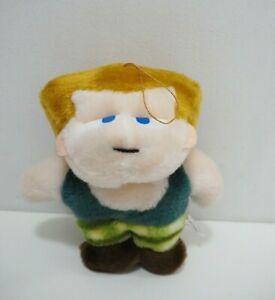 """Street Fighter II GUILE Capcom Fuzzy Plush 6"""" Toy Doll Japan"""