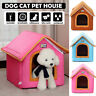Portable Pet Dog Bed Cat Beds Puppy Mat Mattress Sleeping Cave House Soft Summer