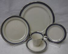 PICKARD china GRACE pattern 5-piece Place Setting cup saucer dinner salad bread
