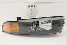 NEW MITSUBISHI GALANT HEAD LIGHT LAMP HEADLIGHT HEADLAMP OEM 99-03 RH NOS black
