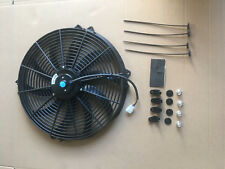 "16"" 120w 12VAeroline High Power Electric Car Engine Radiator Cooling Fan"