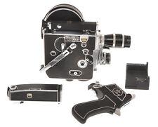 Bolex Paillard H-16 H16 Standard? 16mm C.1950 with 3 lenses, exc++