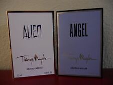 Thierry Mugler 2 pc. set - Alien & Angel Edp Spray sample 1.2 ml .04 fl oz. each