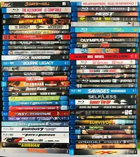 More Blu-Ray Action Movies (Lot 2) - Buy One or More Only 2.99 Shipping