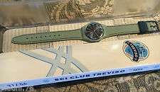 SWATCH ADVERTISING SKIING CLUB TREVISO 2016 SPECIAL GM184 NEW IN BOX RARE LTD.56