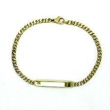 Armband Identitätsarmband 21cm. lang 585er14kt Gelbgold