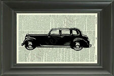 ORIGINAL - Rover Car Vintage Dictionary Page Art Print - Wall Art - Picture 73D