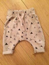 Zara Triangle Trousers 1-3 Months Bnwt