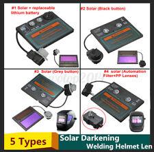 5 Types Auto Solar Darkening Welding Helmet Lens Goggles Mask New