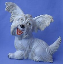 "Rosenthal 9"" Papillon Skye Silky Terrier Briard Dog Germany 1930s"