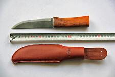 Roselli Messer Puukko Wootz UHC - hunting knife, LARGE - RW200 L, NEU unbenutzt