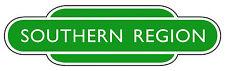 British Railway Totem - All Regions - Custom Printed - 24 inch Self-Adhesive