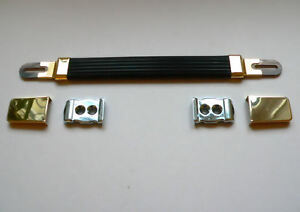 Gold Guitar Amplifier Strap / Handle for Marshall Plexi amp cabinet
