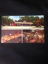 1- Gil's Barbecue Bar B Q Ormond Beach Florida Daytona 1970 Mac Gilliam Hazel