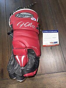 Jonathan Quick Signed Glove LA Kings Team USA Autographed PSA/DNA Authentic COA