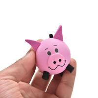1pc Cute Pig Eva Decoration Car Antenna Topper Ball Pink Universal Decar Ball