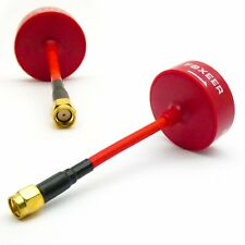 FOXEER Pro 4-Leaf 5.8G Omni FPV Antenna 3dbi RHCP Clover RP-SMA Inner Hole (Red)