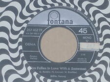 "MILLIE -I've Fallen In Love With A Snowman- 7"" 45"