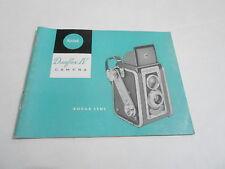 1950s/1960s CAMERA manual #19 - KODAK DUAFLEX IV w/KODAK LENS