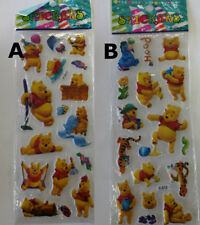 """""""Whinnie The Pooh"""" 3D Plastic Stickers Pack Kids Decorative Fun Toy Scrapbooking"""