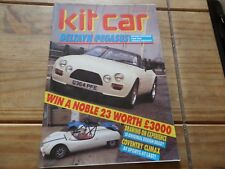 KIT CAR MAGAZINE OCT 1988 DELTAYN PEGASUS  COVENTRY CLIMAX       Vintage RETRO