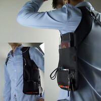 Schulterholster Geldbörse Halftertasche Gürtel Anti-Diebstahl Herrentasche Bag G