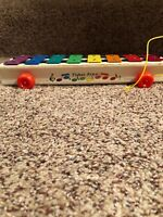 Vintage Fisher Price Xylophone 870 1978
