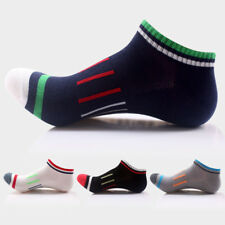 4pair Mens Breath Mesh Sport Ankle Socks Cotton Skating Cycling Running Dress
