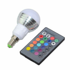 1 mal Dimmbare LED Glühlampe E27 5W 16 Farben mit IR-Fernsteuerung - Restposten