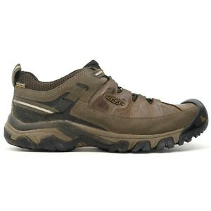 Keen Mens Targhee III Leather Outdoor WP Low Hiking Shoes Size US 11  EU 44.5