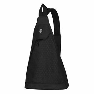 Victorinox Altmont Dual Compartment Mono Sling Bag Travel Shoulder Backpack BLK