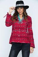 $210 Ryan Michael Beacon Blanket Western Jacket /Womens Large- NEW Southwestern