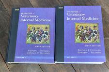 Textbook of Veterinary Internal Medicine Volume 1&2 Set by Stephen J. Ettinger
