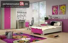 PM_DOMB10 Kinder- Jugendzimmer Bett Schreibtisch komplett erweiterbar SET