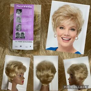 "NEW! Paula Young Wig ""Sensational"" Size Petite Color #22 Light Blonde New/Tags"