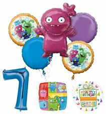 Mayflower Products Ugly Dolls Party Supplies 7th Birthday Balloon Bouquet Decor