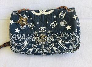 Authentic Rare Chanel Dallas Bandana Bag