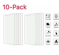 10-Pack Premium Tempered Glass Screen Protector Guard For LG G6 / LG G7 ThinQ