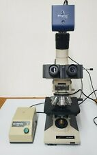 Olympus Bh2 Metallurgical Trinoc Microscope With New Jenoptik Progres Ct5 Camera