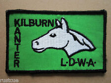 Kilburn Kanter LDWA Walking Hiking Woven Cloth Patch Badge