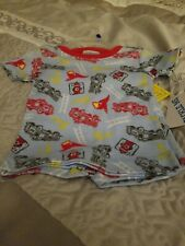 New Fire Truck Pajamas 12 Months Tshirt And Shorts
