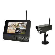 Comag digitales Kamera Funk Überwachungsset Videosystem 4-kanal Monitor