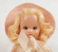 Nancy Ann Storybook Doll Blessings Light on You Vintage Plastic Blonde Hair CUTE